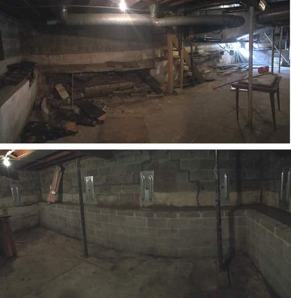 Basement Wall Repair & Rebuild | Waterproofing Basement Walls by BDB Waterproofing
