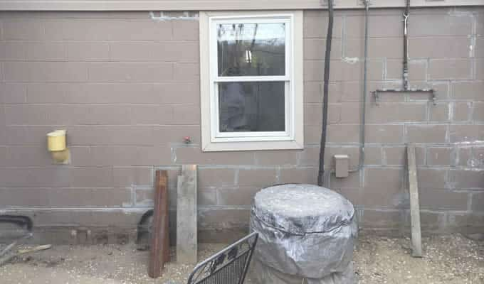 Foundation repair after BDB Waterproofing