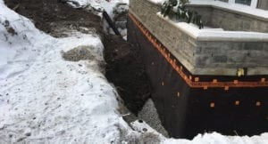winter foundation leak repair foundation crack repair, foundation settlement Omaha