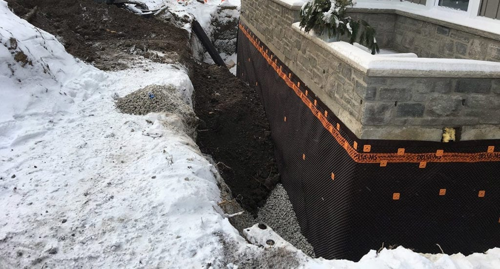 winter foundation leak repair foundation crack repair, foundation settlement Omaha