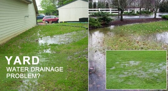 water drainage problems