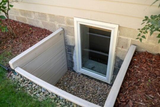 Egress Window + Basement Window Well by BDB Waterproofing